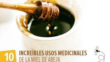 usos medicinales de la miel de abeja